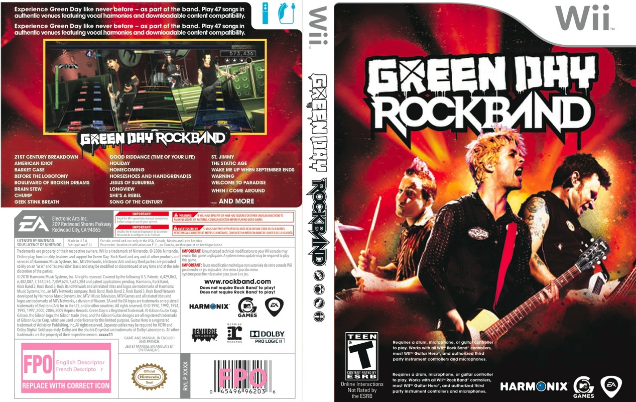 Nice Images Collection: Greenday Rockband Desktop Wallpapers