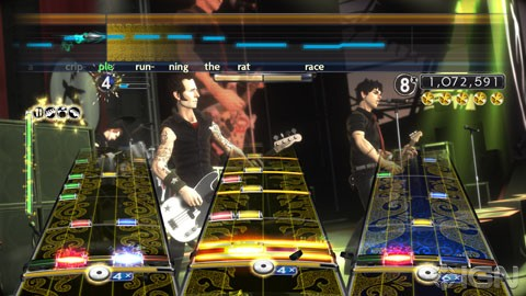 HD Quality Wallpaper | Collection: Video Game, 480x270 Greenday Rockband