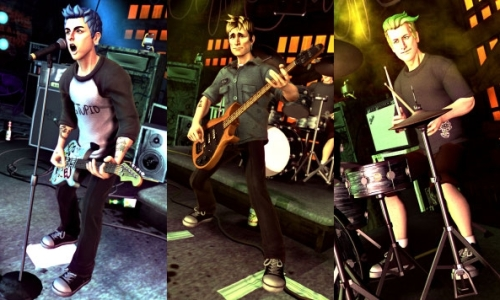 Nice wallpapers Greenday Rockband 500x300px