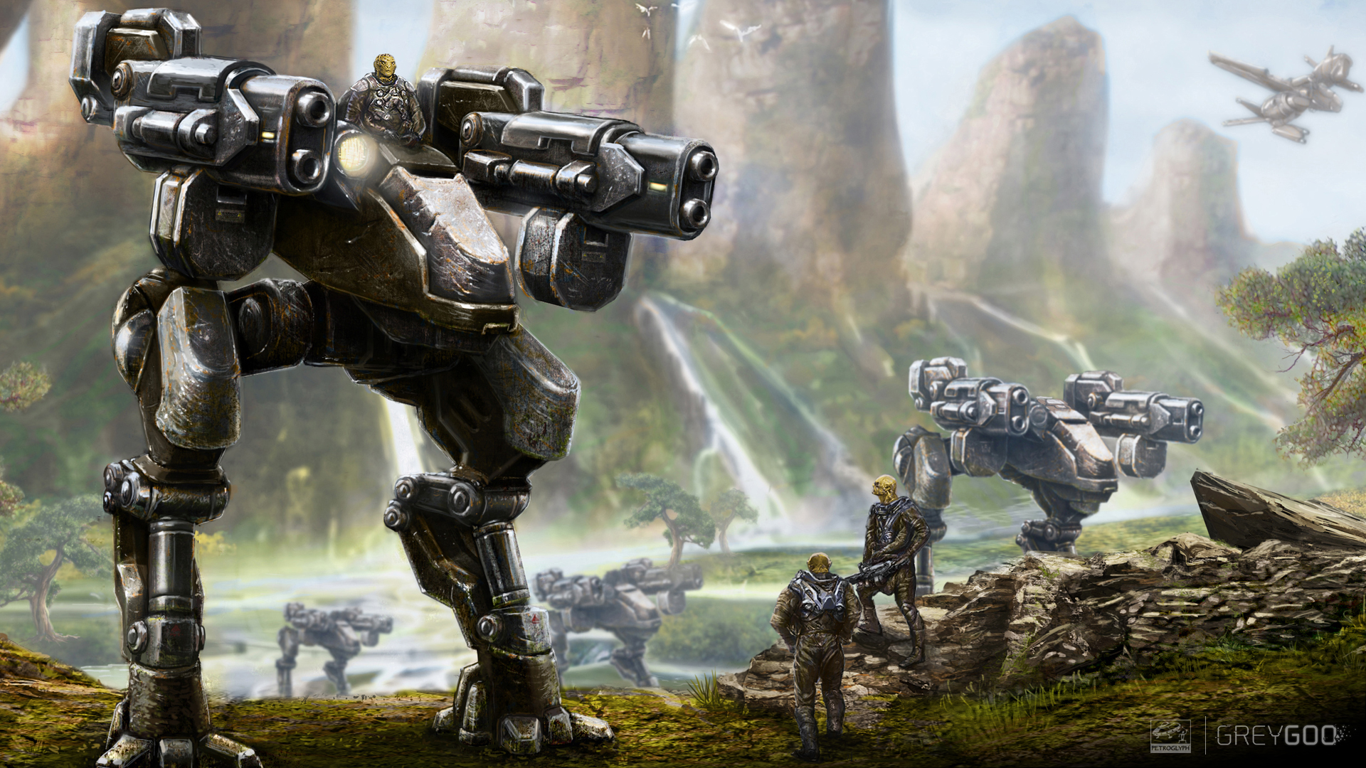 1920x1080 > Grey Goo Wallpapers