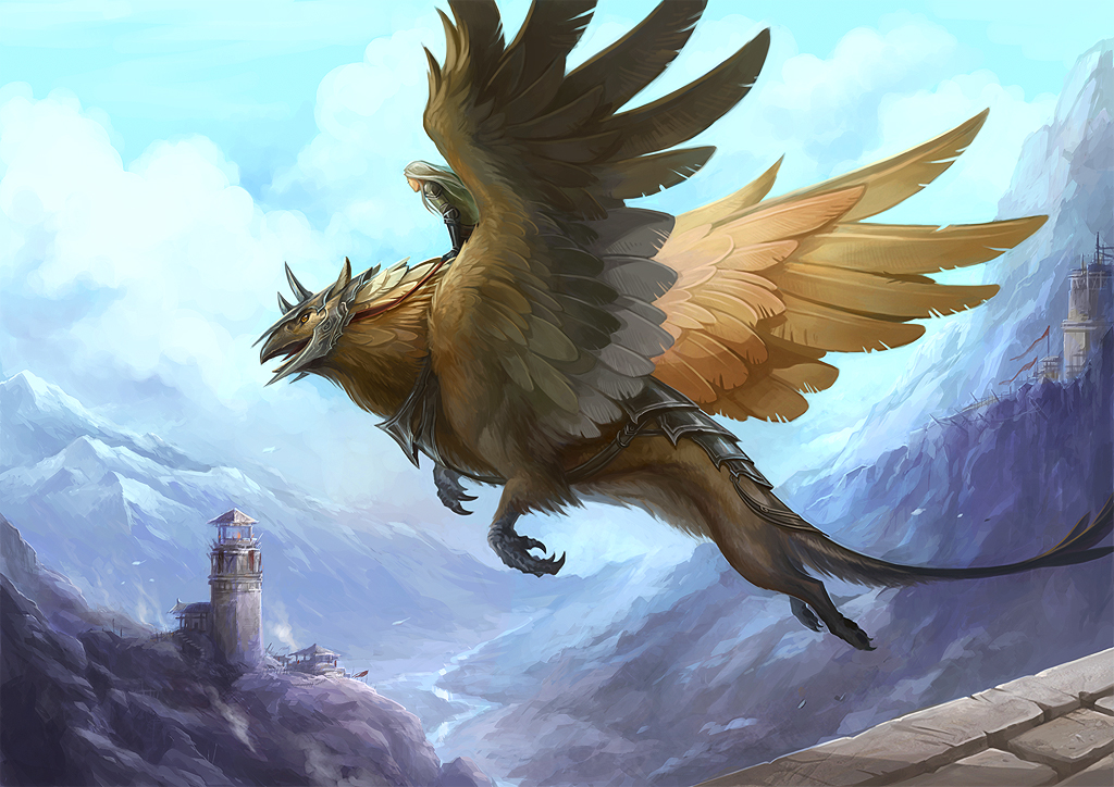 Nice wallpapers Griffin 1024x724px