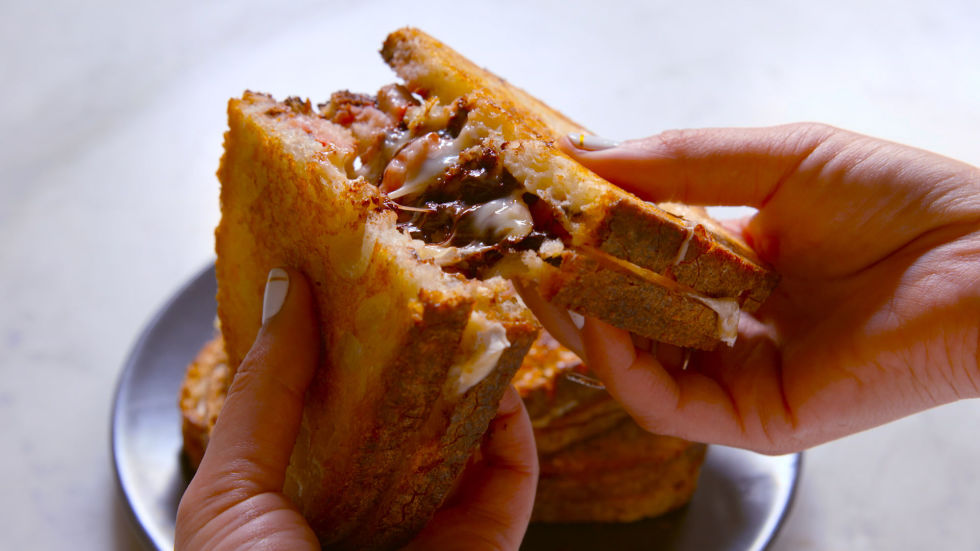HD Quality Wallpaper | Collection: Food, 980x551 Grilled Cheese