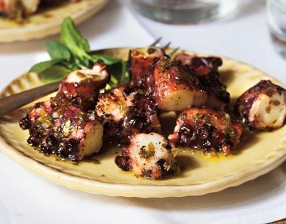 Images of Grilled Octopus | 418x328