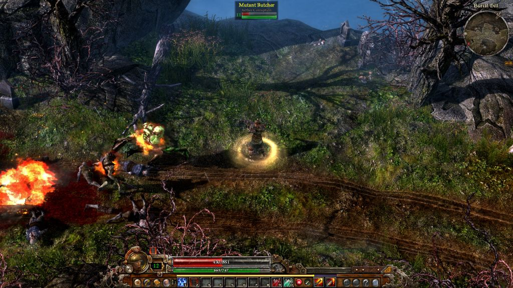 Nice Images Collection: Grim Dawn Desktop Wallpapers