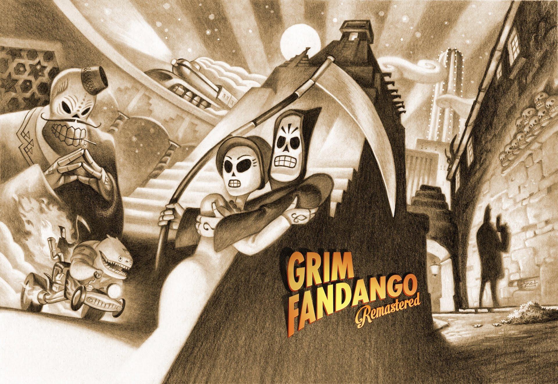 Nice wallpapers Grim Fandango 1920x1322px