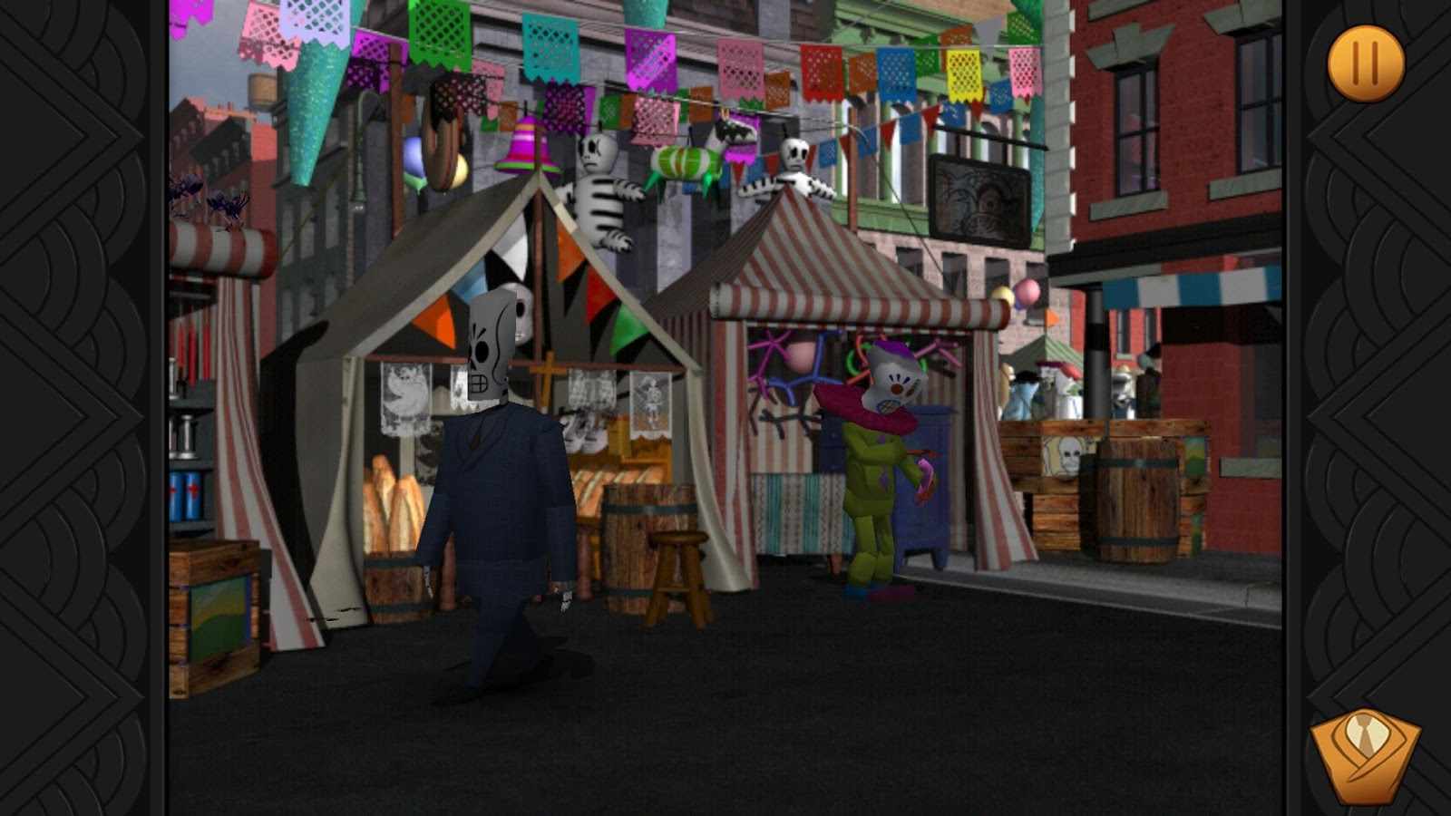 Nice wallpapers Grim Fandango Remastered 1600x900px