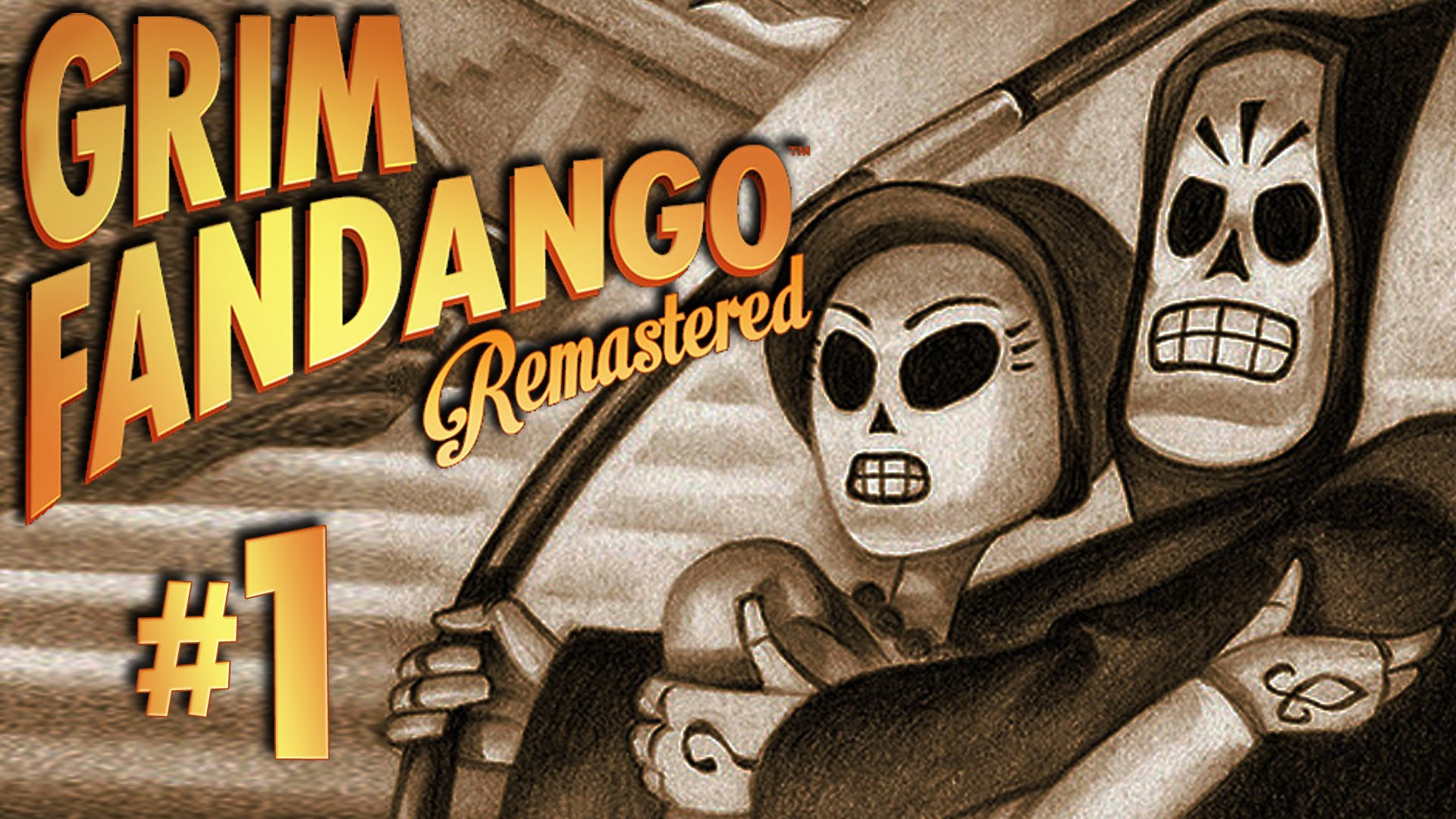 HD Quality Wallpaper | Collection: Video Game, 1920x1080 Grim Fandango Remastered