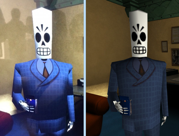 Grim Fandango Remastered High Quality Background on Wallpapers Vista