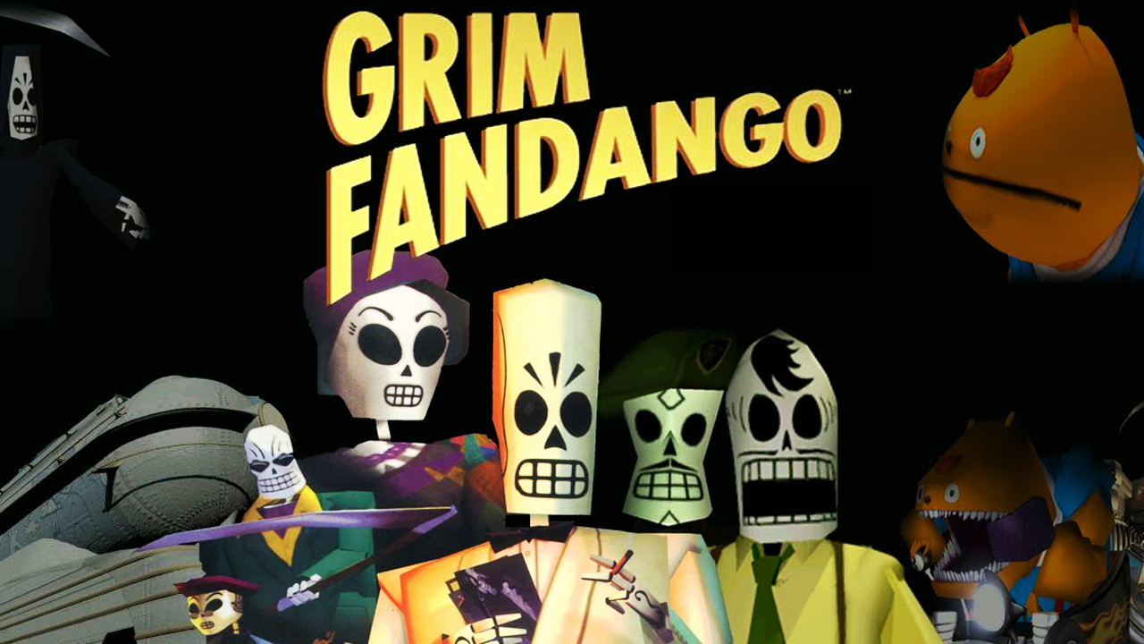 Nice wallpapers Grim Fandango Remastered 1280x720px