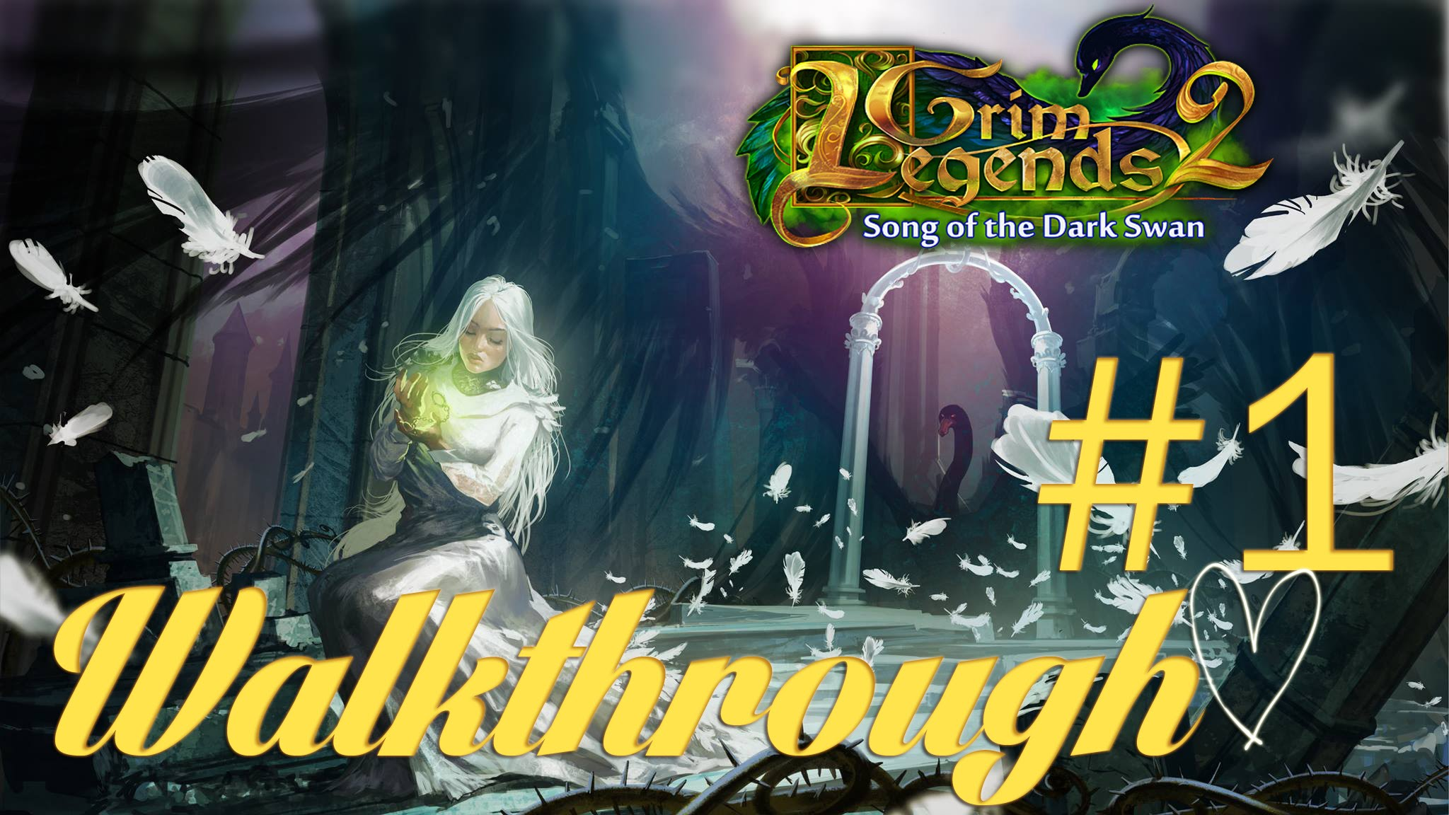 Grim Legends 2: Song Of The Dark Swan Backgrounds, Compatible - PC, Mobile, Gadgets| 2048x1152 px