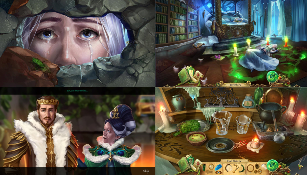 Grim Legends 2: Song Of The Dark Swan Backgrounds, Compatible - PC, Mobile, Gadgets| 620x354 px