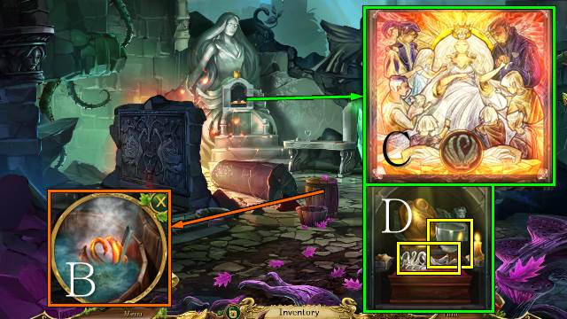Nice Images Collection: Grim Legends 2: Song Of The Dark Swan Desktop Wallpapers