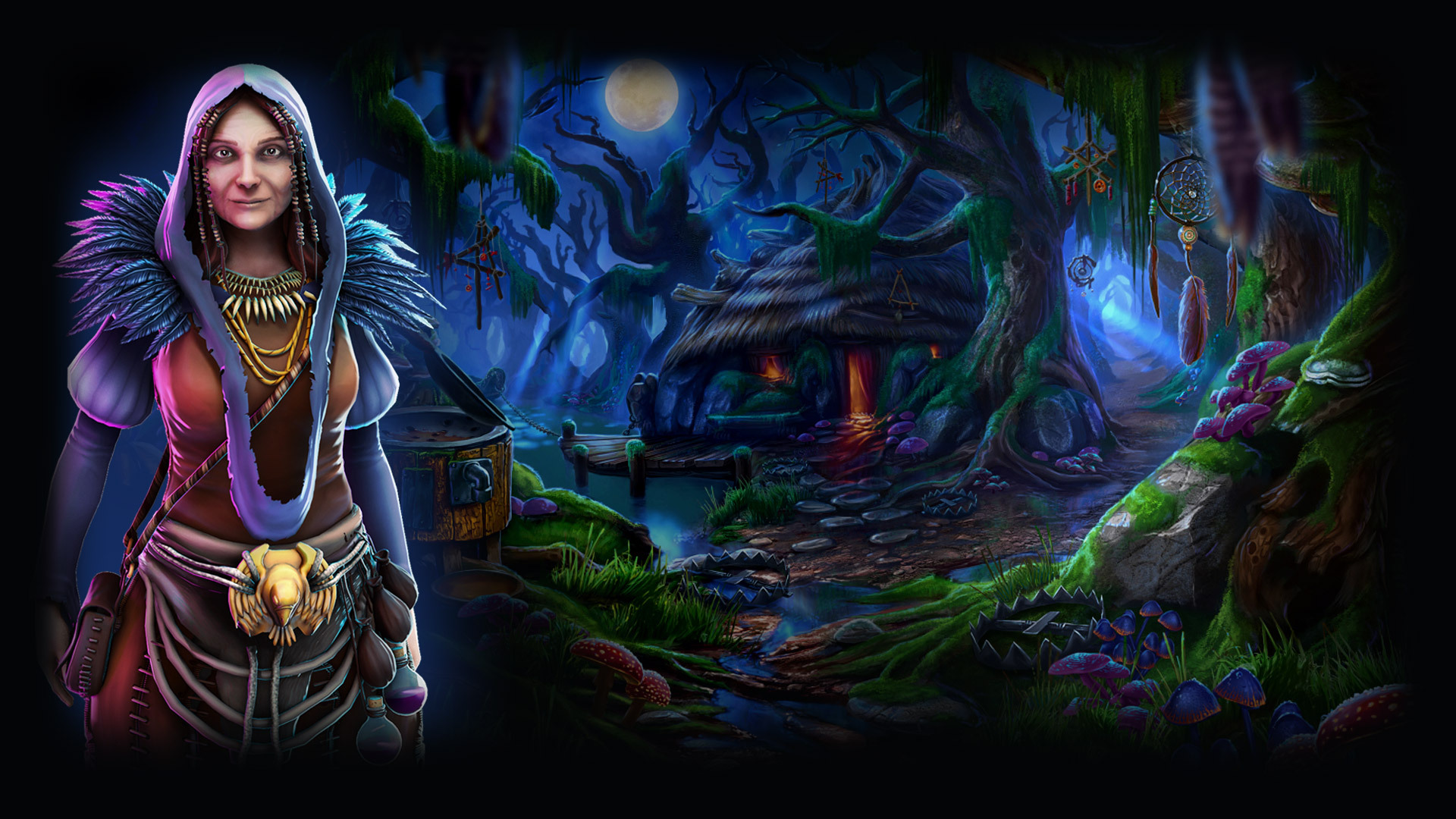 Grim Legends: The Forsaken Bride Backgrounds, Compatible - PC, Mobile, Gadgets| 1920x1080 px