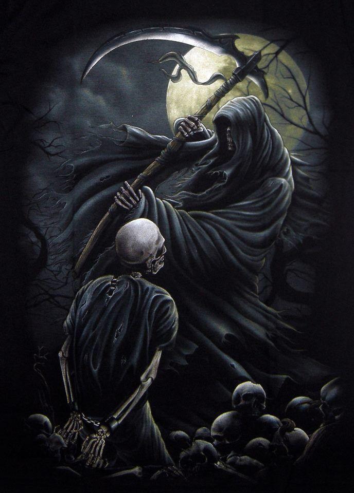 Nice Images Collection: Grim Reaper Desktop Wallpapers
