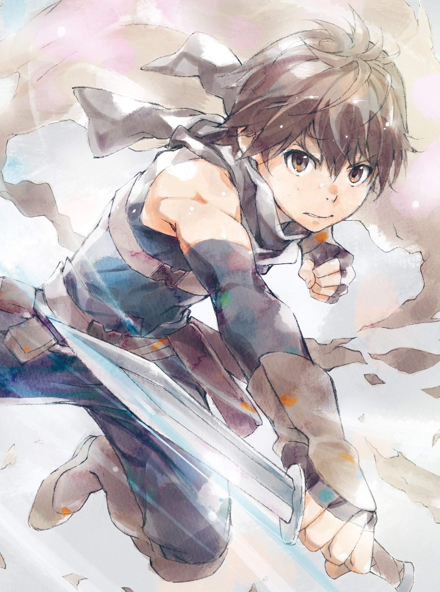 Nice Images Collection: Grimgar Of Fantasy And Ash Desktop Wallpapers