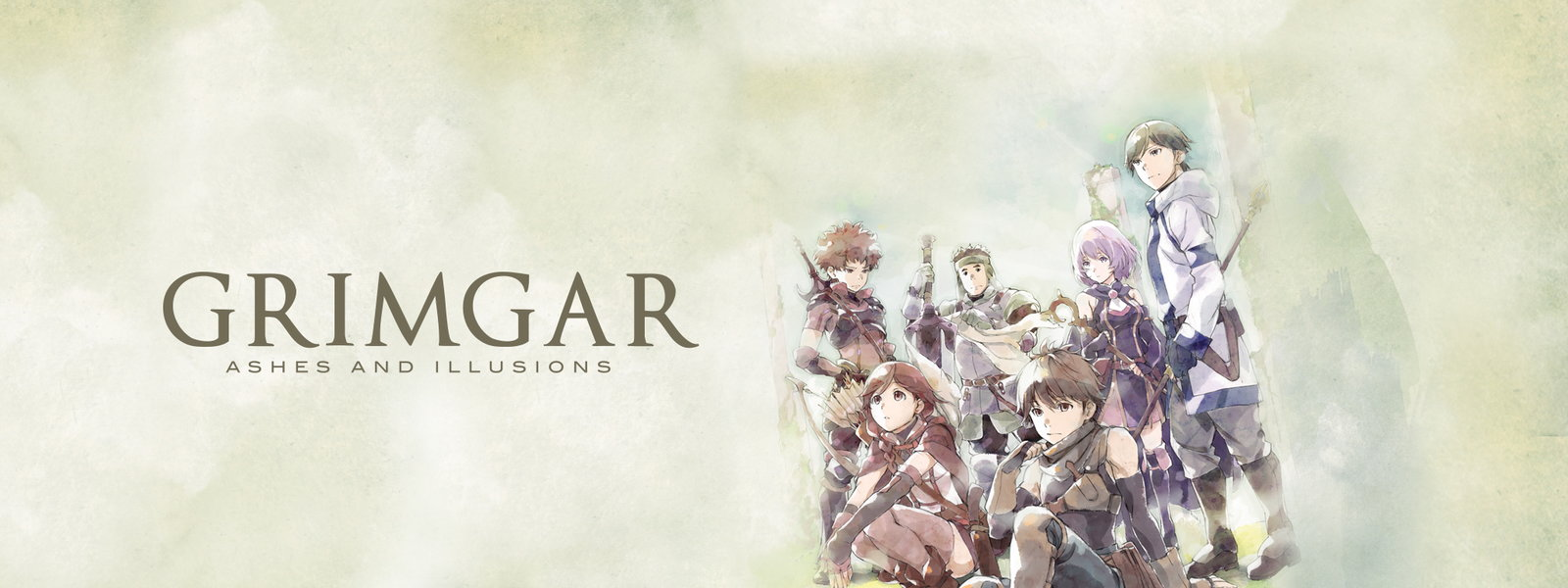 HD Quality Wallpaper | Collection: Anime, 1600x600 Grimgar Of Fantasy And Ash