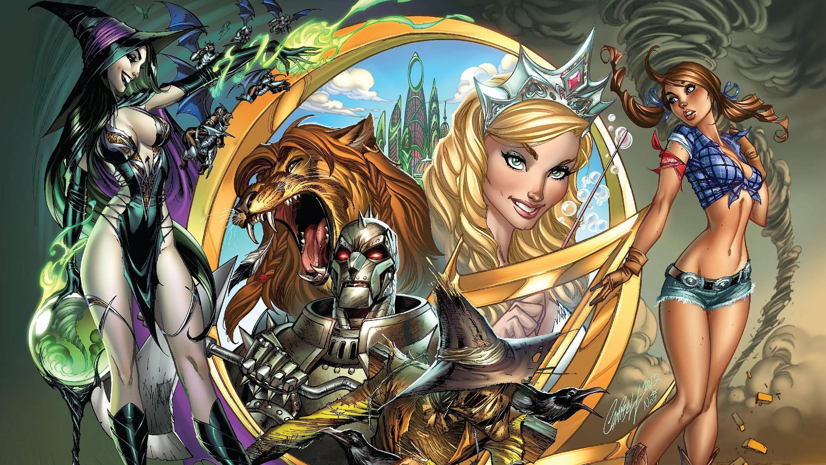 Grimm Fairy Tales: Sleepy Hollow wallpapers, Comics, HQ