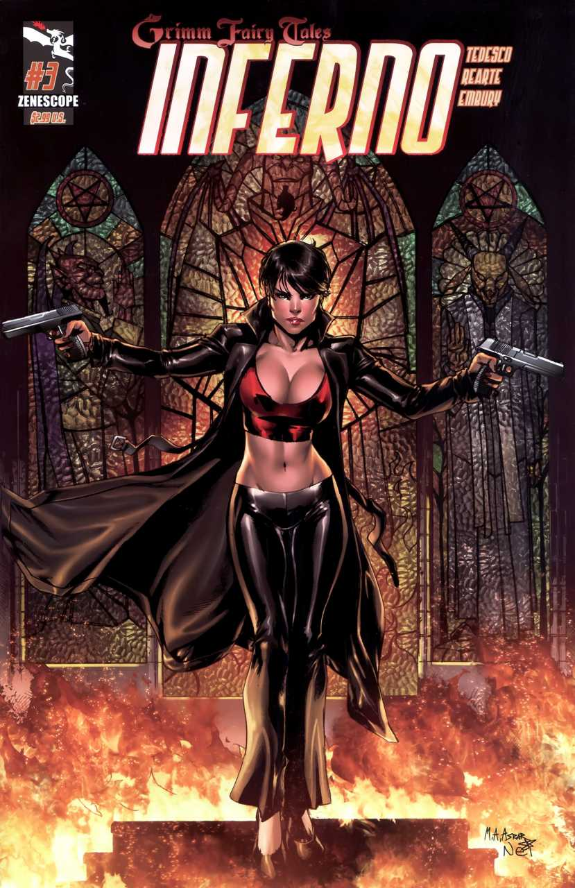 3A cover Grimm Fairy Tales Presents Rings of Hell #3 Inferno ~ Zenescope