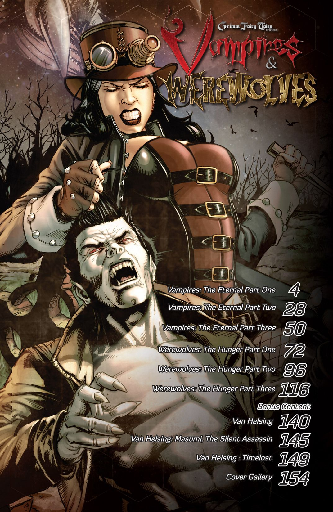 2A cover Werewolves ~ Zenescope Grimm Fairy Tales Presents The Hunger #2