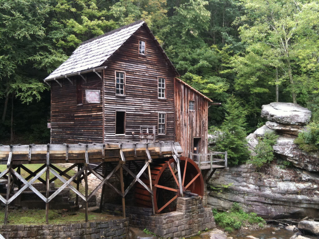 Nice Images Collection: Grist Mill Desktop Wallpapers
