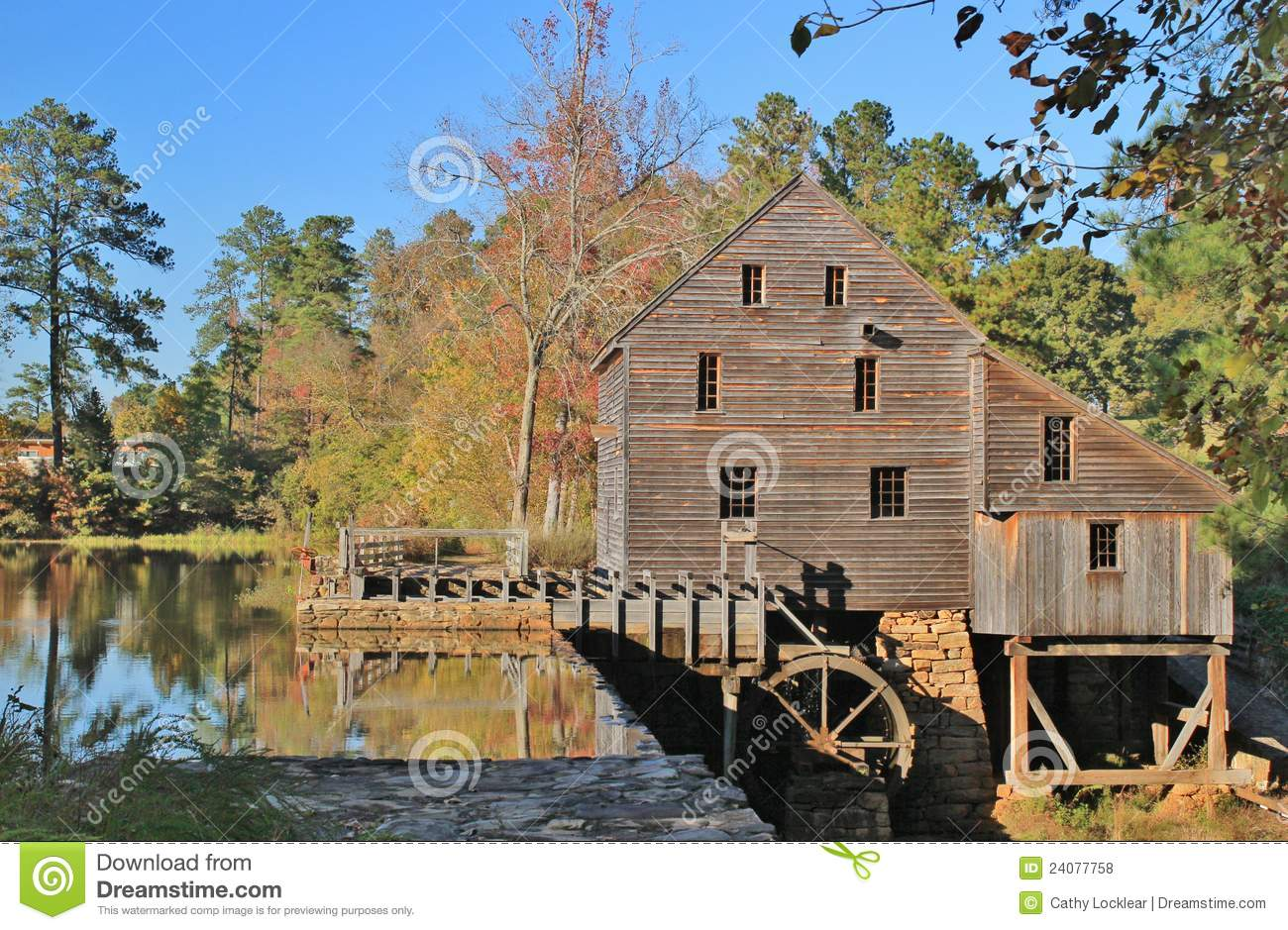 HD Quality Wallpaper | Collection: Artistic, 1300x939 Grist Mill