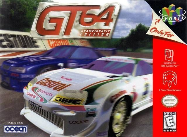 GT 64: Championship Edition Pics, Video Game Collection
