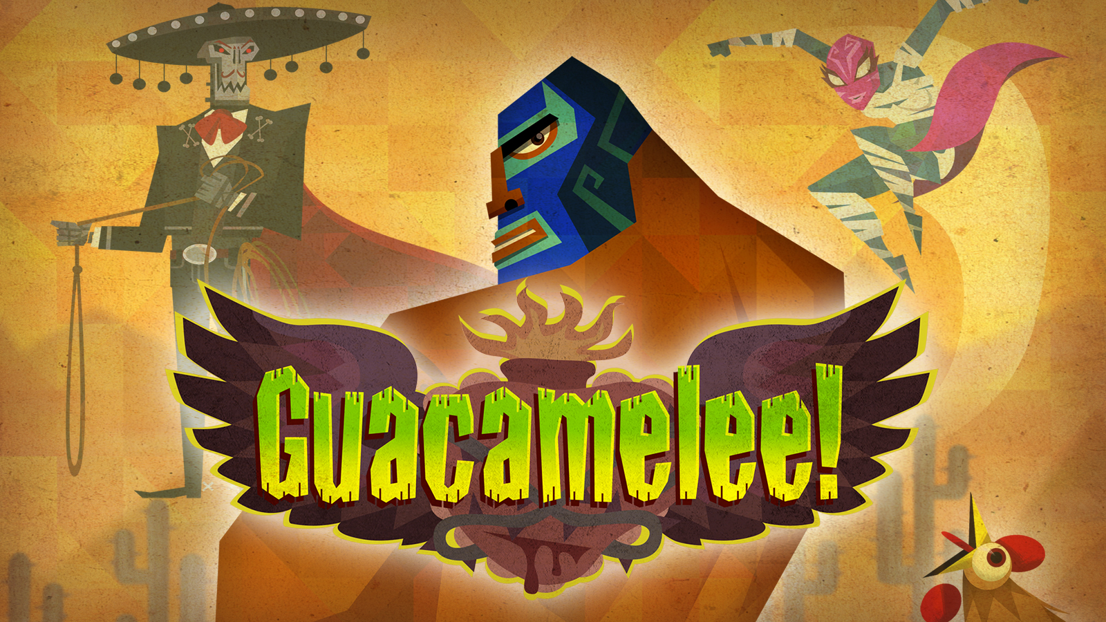 High Resolution Wallpaper | Guacamelee! 1600x900 px