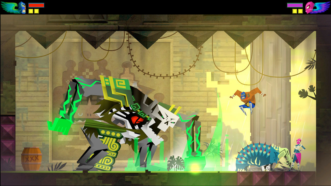 HD Quality Wallpaper | Collection: Video Game, 1280x720 Guacamelee!
