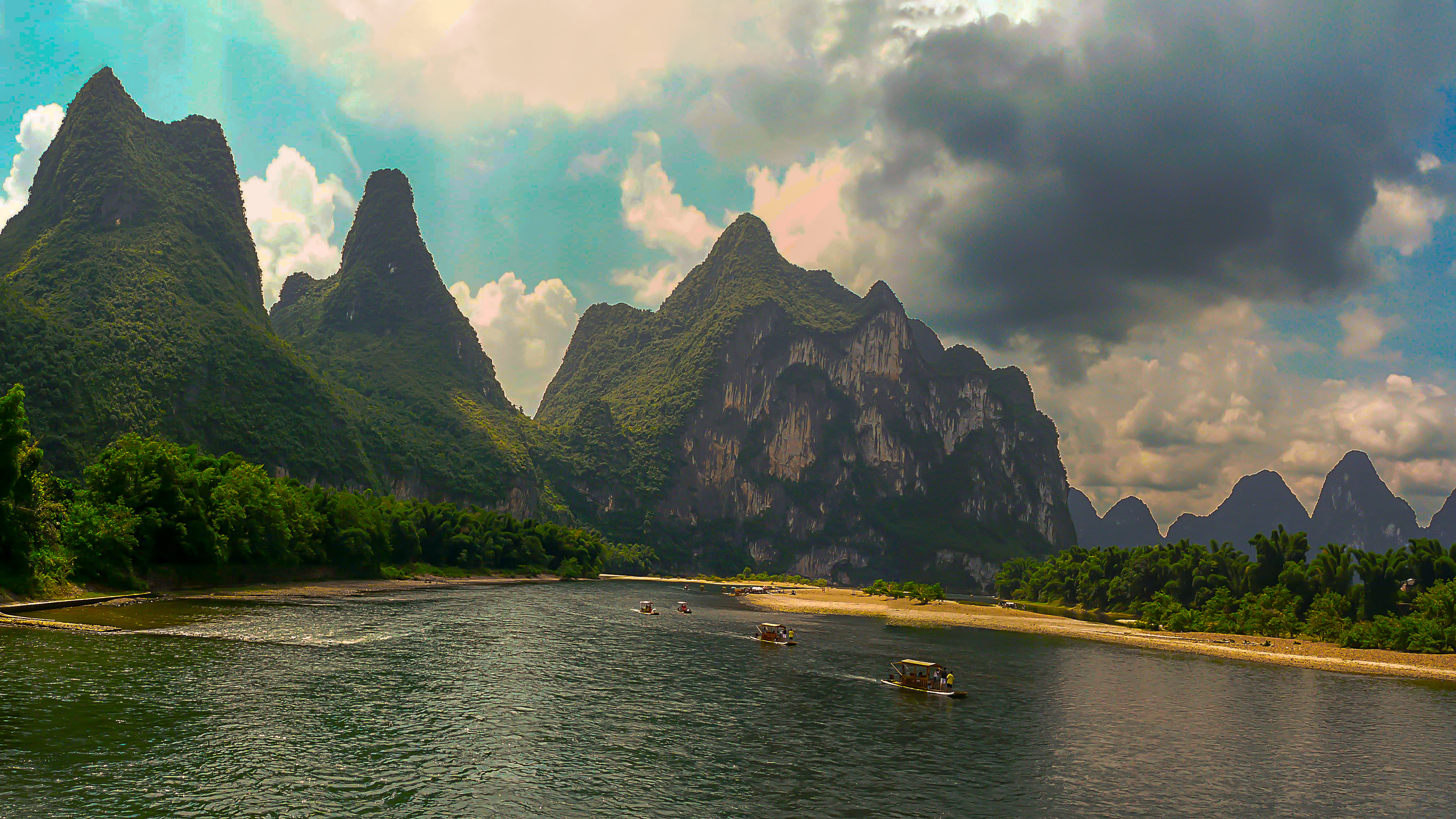 Nice Images Collection: Guanxi Zhuang Desktop Wallpapers