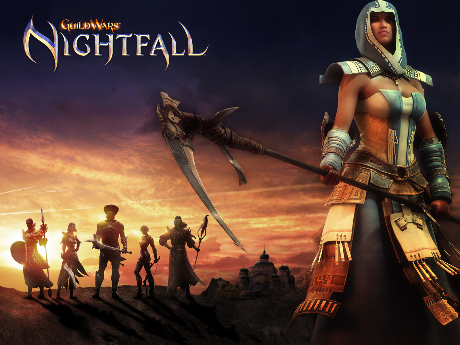 Nice Images Collection: Guild Wars Nightfall Desktop Wallpapers