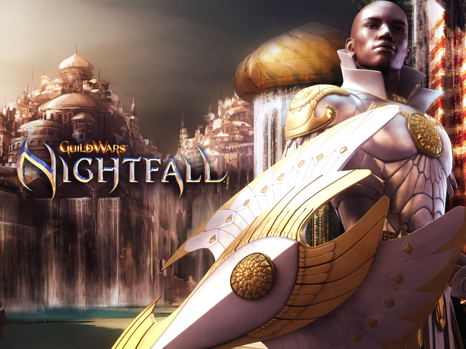 Guild Wars Nightfall High Quality Background on Wallpapers Vista