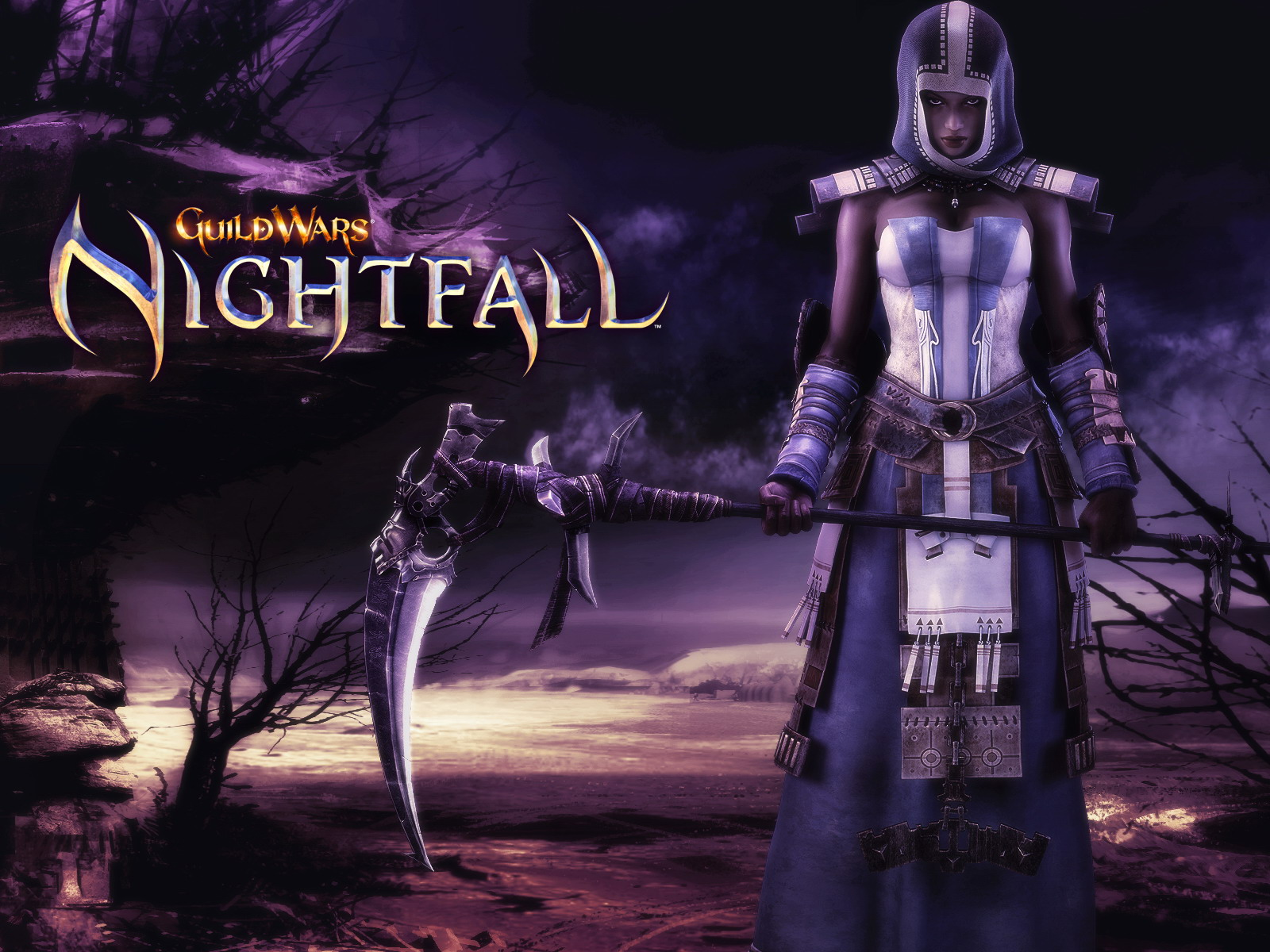 HD Quality Wallpaper | Collection: Video Game, 1600x1200 Guild Wars Nightfall