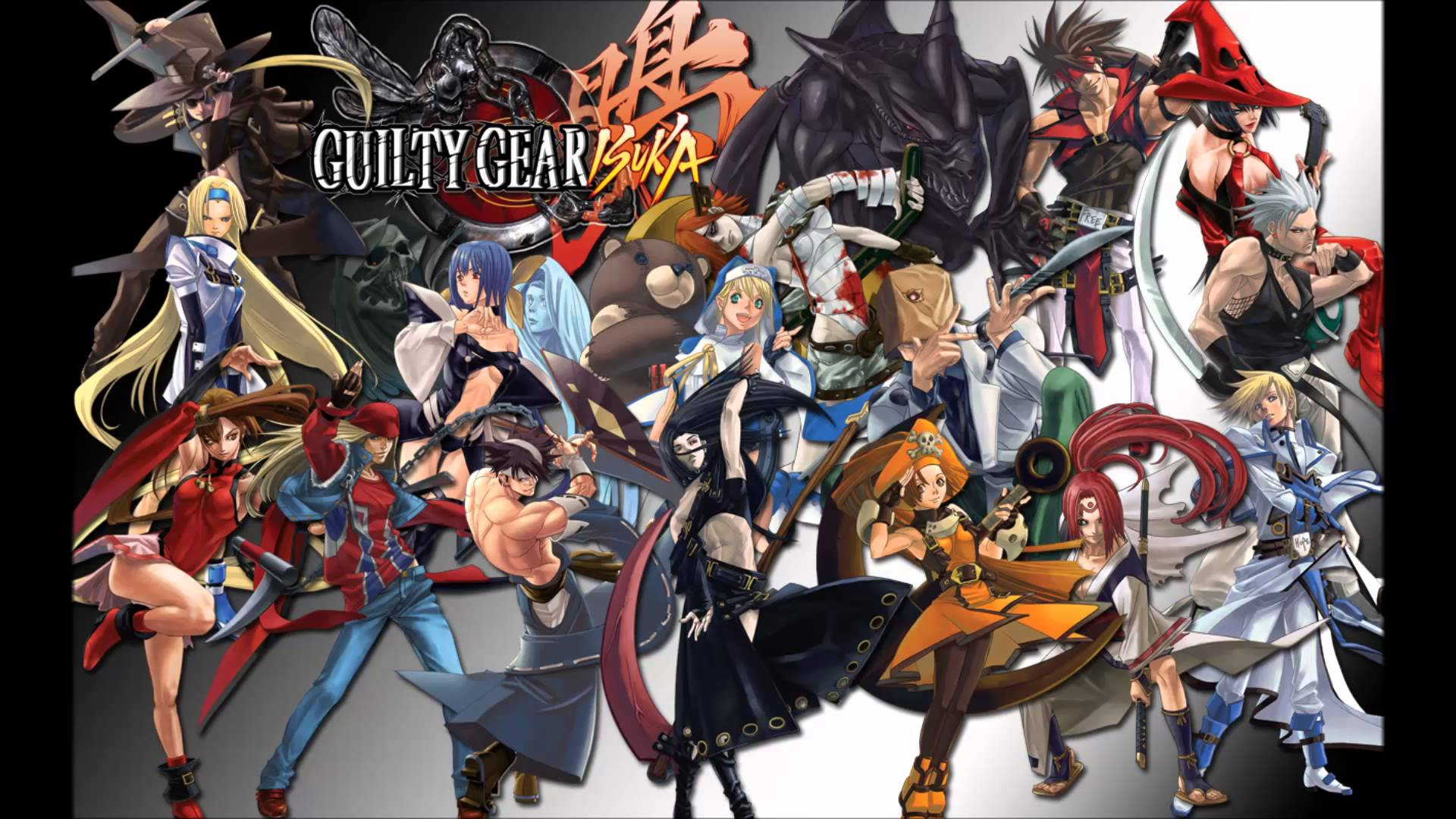Nice Images Collection: Guilty Gear Isuka Desktop Wallpapers