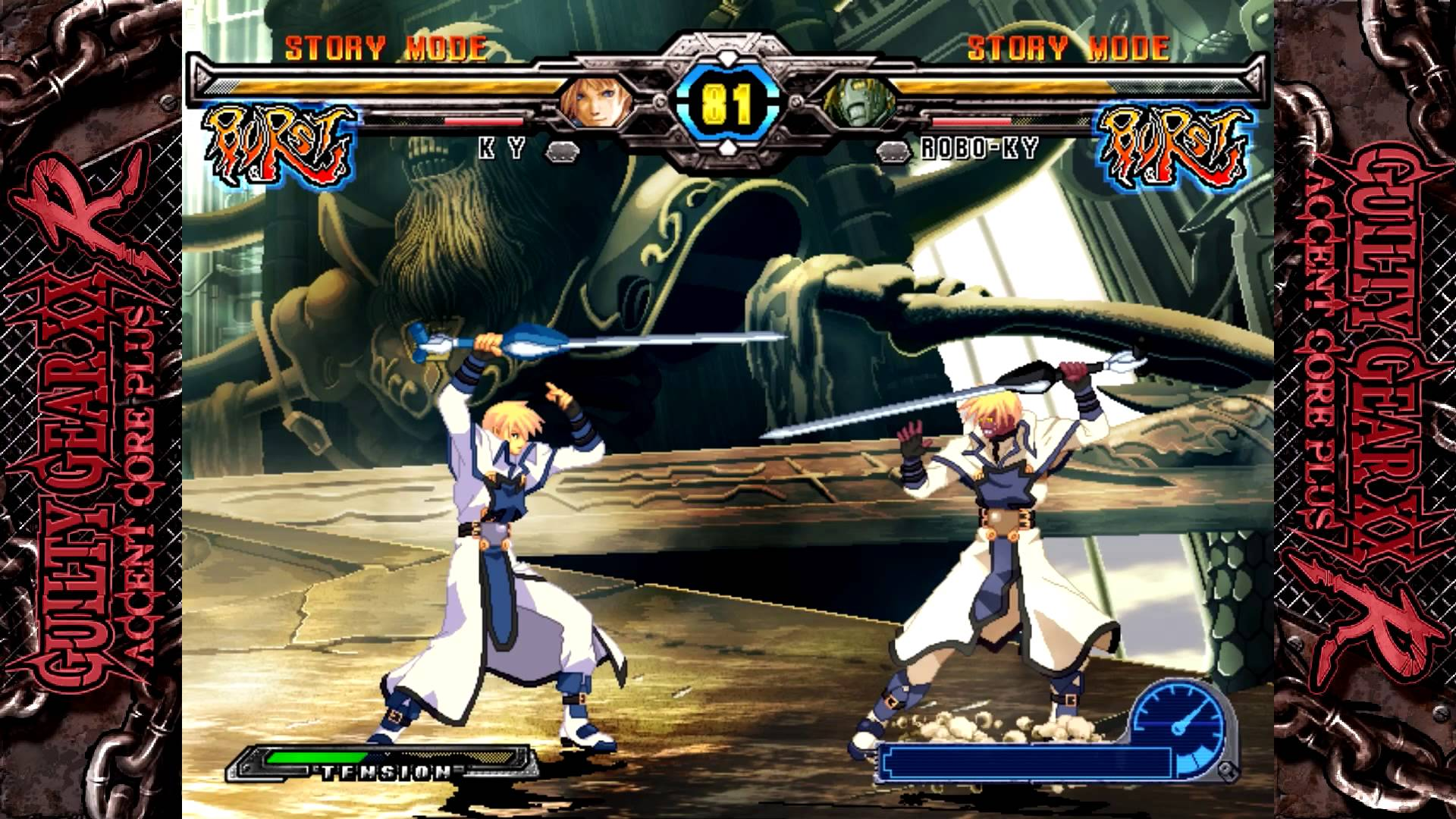 HD Quality Wallpaper | Collection: Video Game, 1920x1080 Guilty Gear XX Accent Core Plus