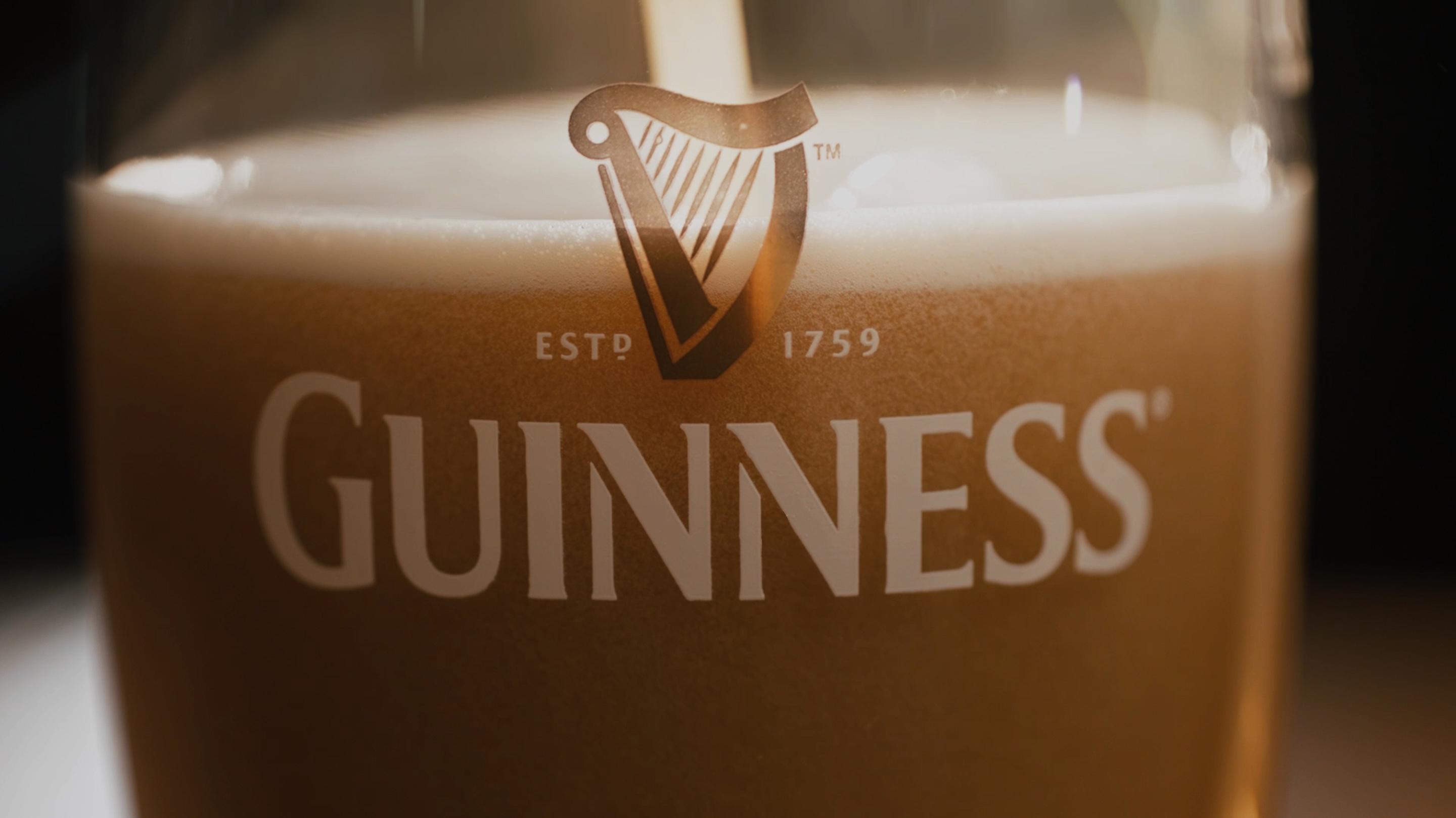 HD Quality Wallpaper | Collection: Products, 2880x1620 Guinness