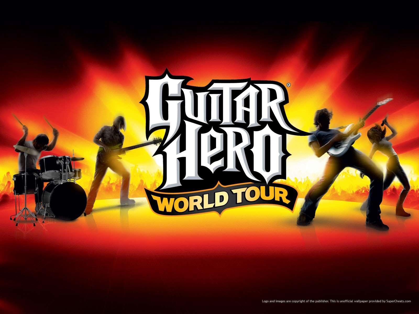 HQ Guitar Hero Wallpapers | File 125.1Kb