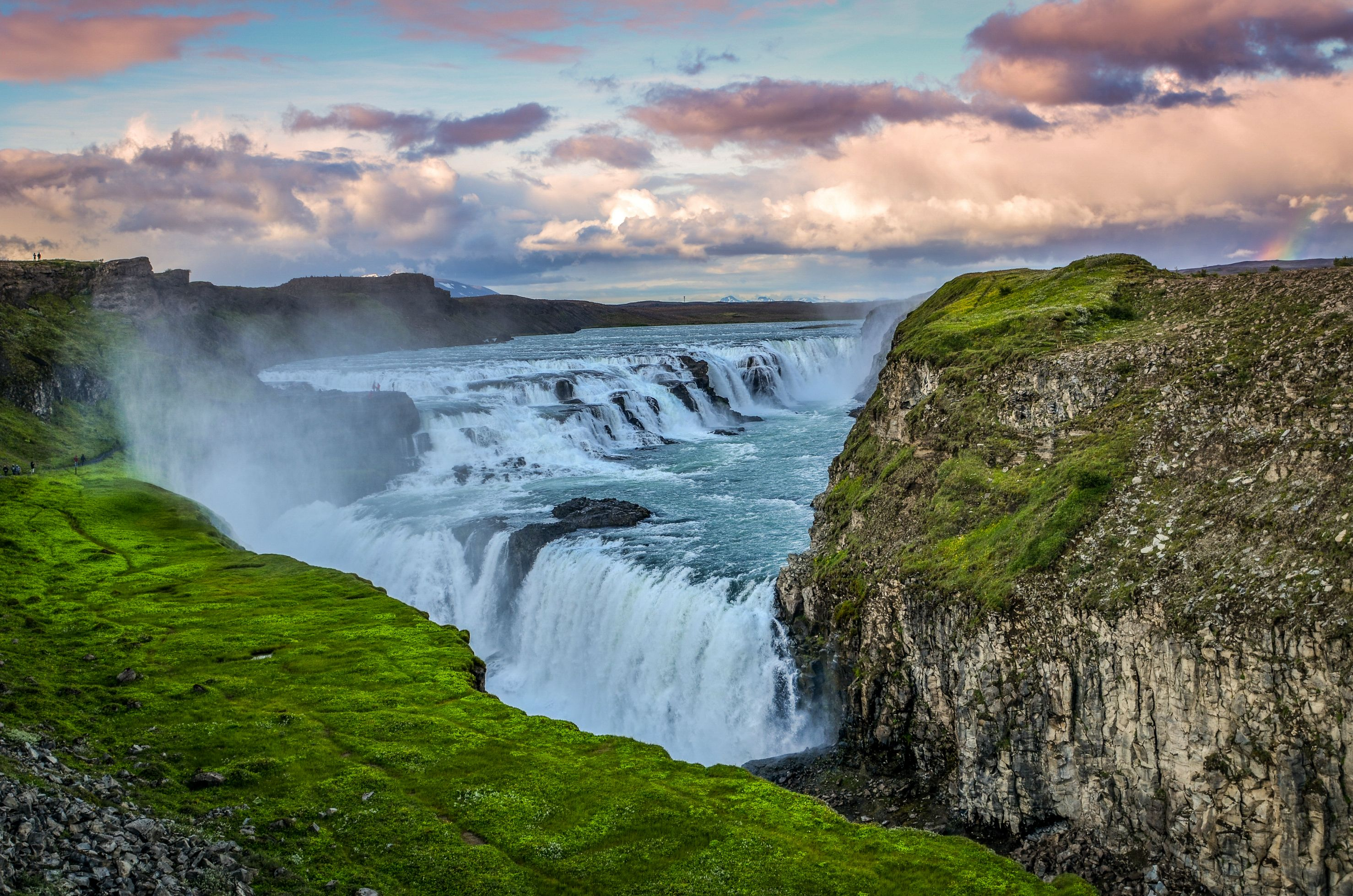 HD Quality Wallpaper | Collection: Earth, 2956x1958 Gullfoss