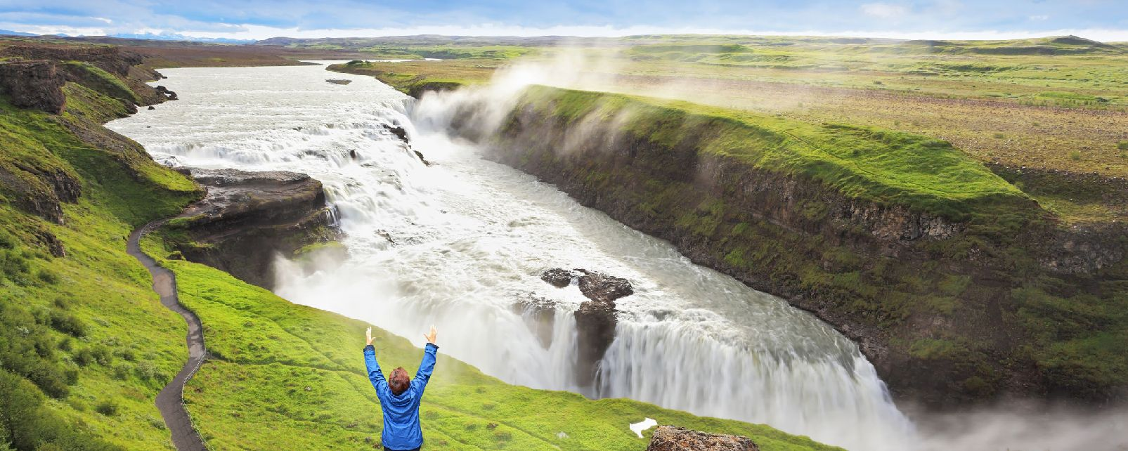 Gullfoss High Quality Background on Wallpapers Vista
