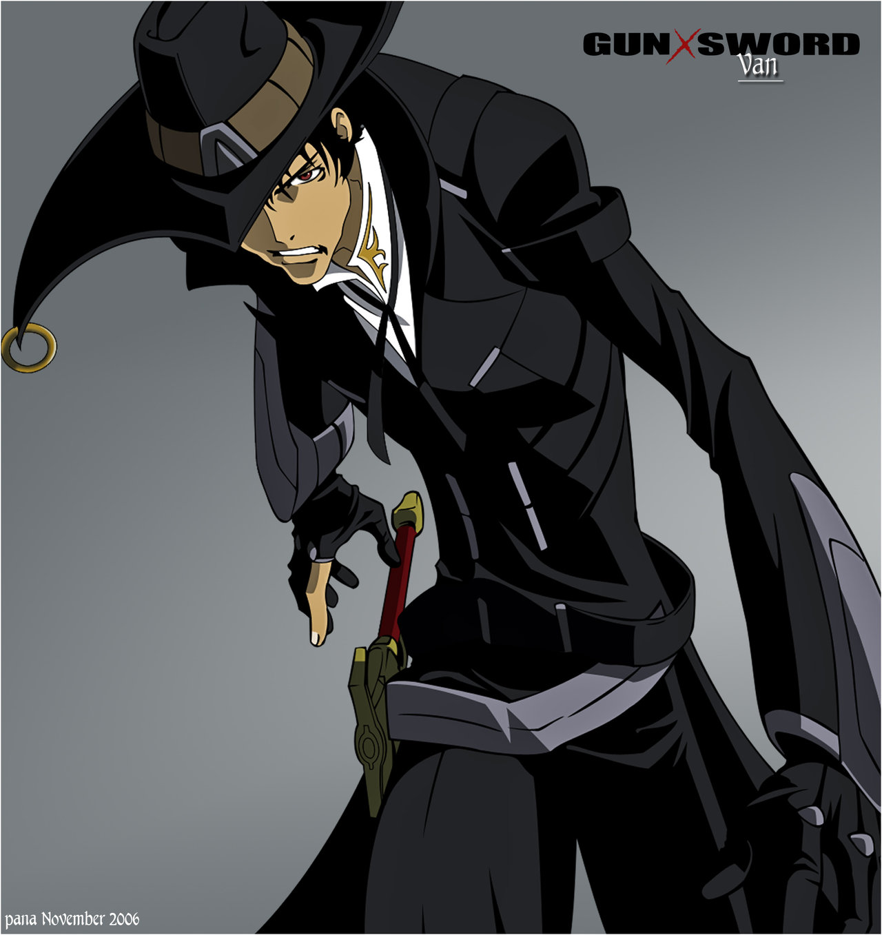 HD Quality Wallpaper | Collection: Anime, 1280x1357 Gun X Sword