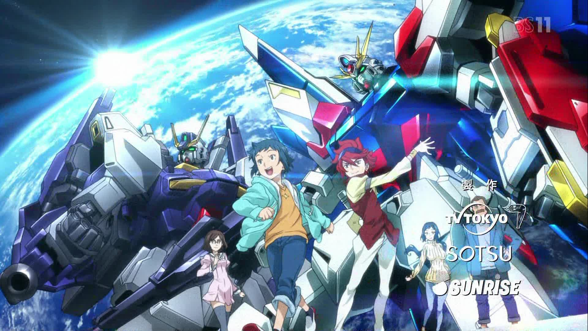 HD Quality Wallpaper | Collection: Anime, 1920x1080 Gundam Build Fighters