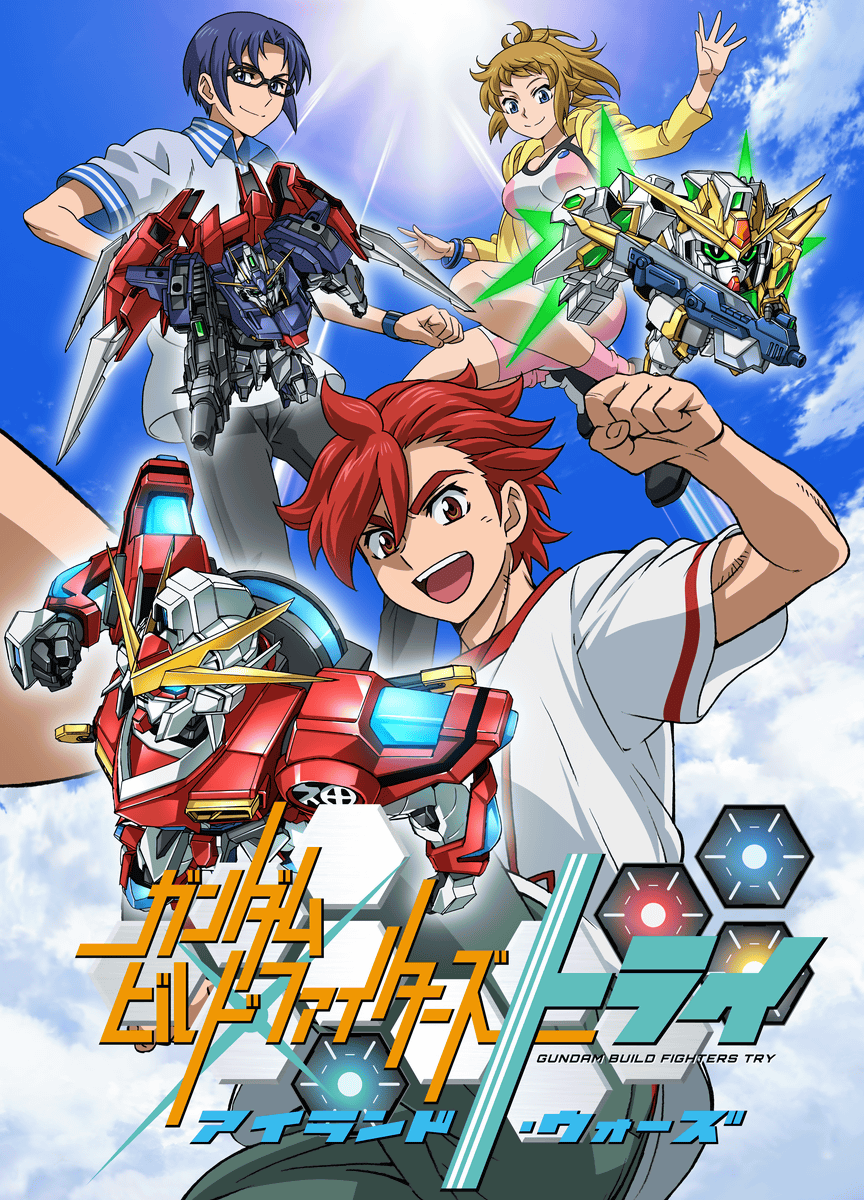 Nice Images Collection: Gundam Build Fighters Desktop Wallpapers
