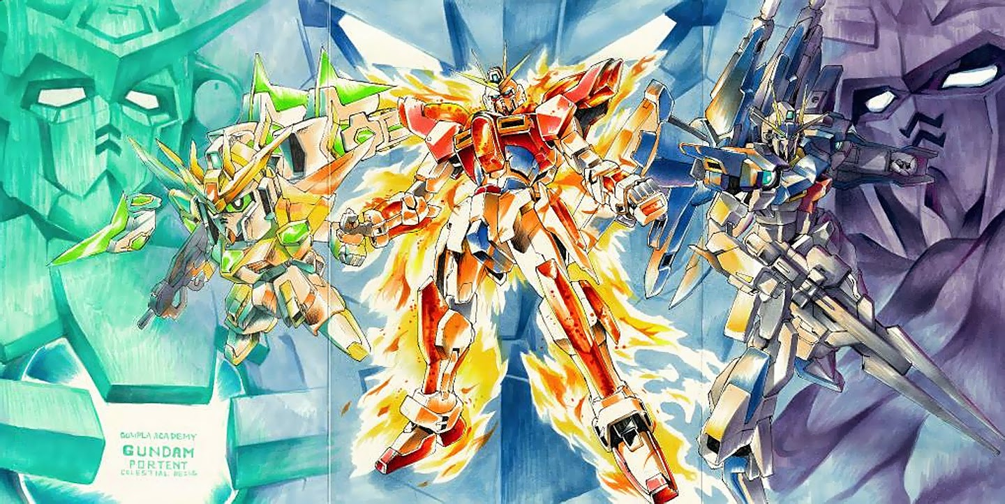 Gundam Build Fighters HD wallpapers, Desktop wallpaper - most viewed