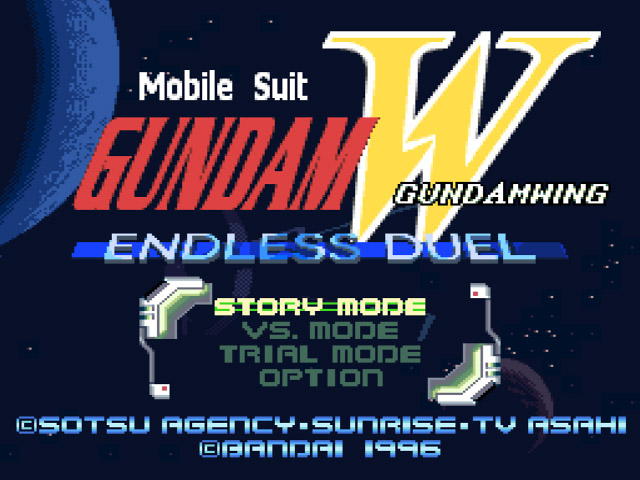 Nice wallpapers Gundam Wing: Endless Duel 640x480px