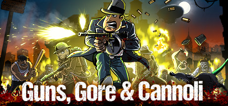 Nice wallpapers Guns, Gore & Cannoli 460x215px