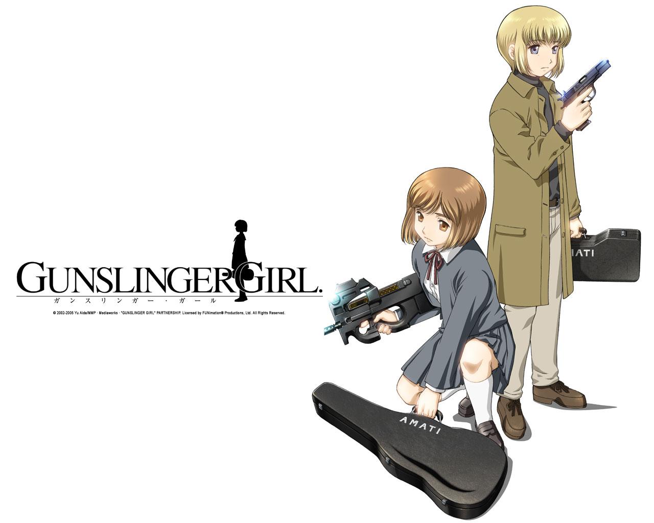 HQ Gunslinger Girl Wallpapers | File 119.75Kb