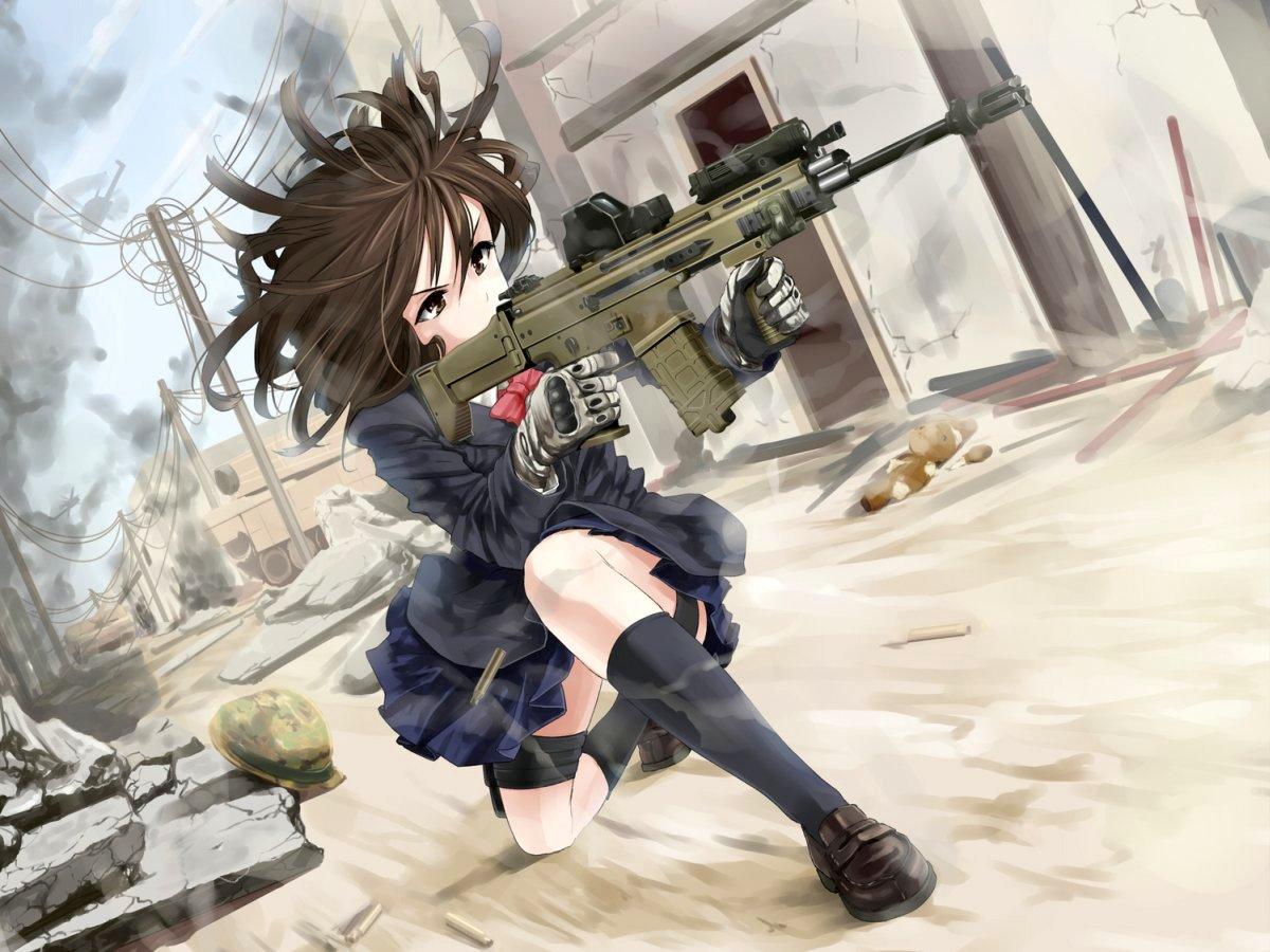 Images of Gunslinger Girl | 1200x900