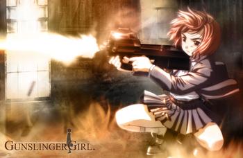 Nice wallpapers Gunslinger Girl 350x228px