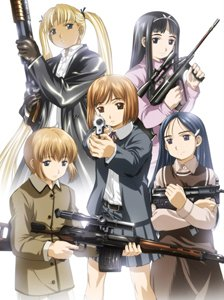 Gunslinger Girl Backgrounds, Compatible - PC, Mobile, Gadgets| 224x300 px