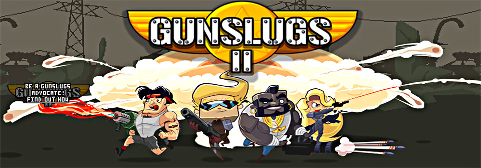High Resolution Wallpaper | Gunslugs 2 960x335 px