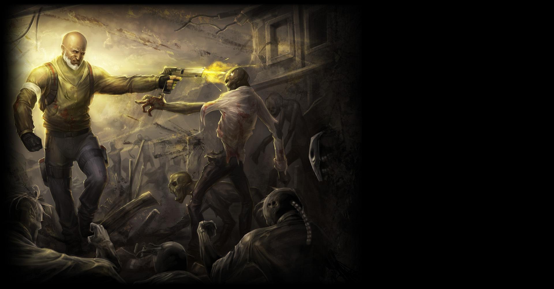 Nice wallpapers Guns'N'Zombies 1920x1000px